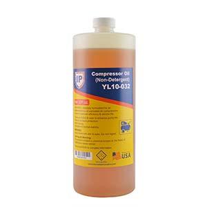 YL10-032 Interstate Pneumatics YL10-032 Non Detergent Compressor Oil - Chevron Rando HD - 32 oz.