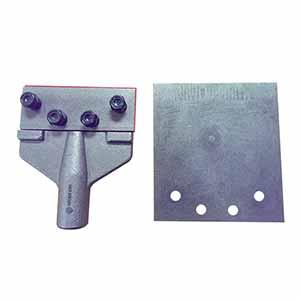 """Superior Steel SC10018 5"""" x 6"""" Floor Scraper Head Includes Blade"""